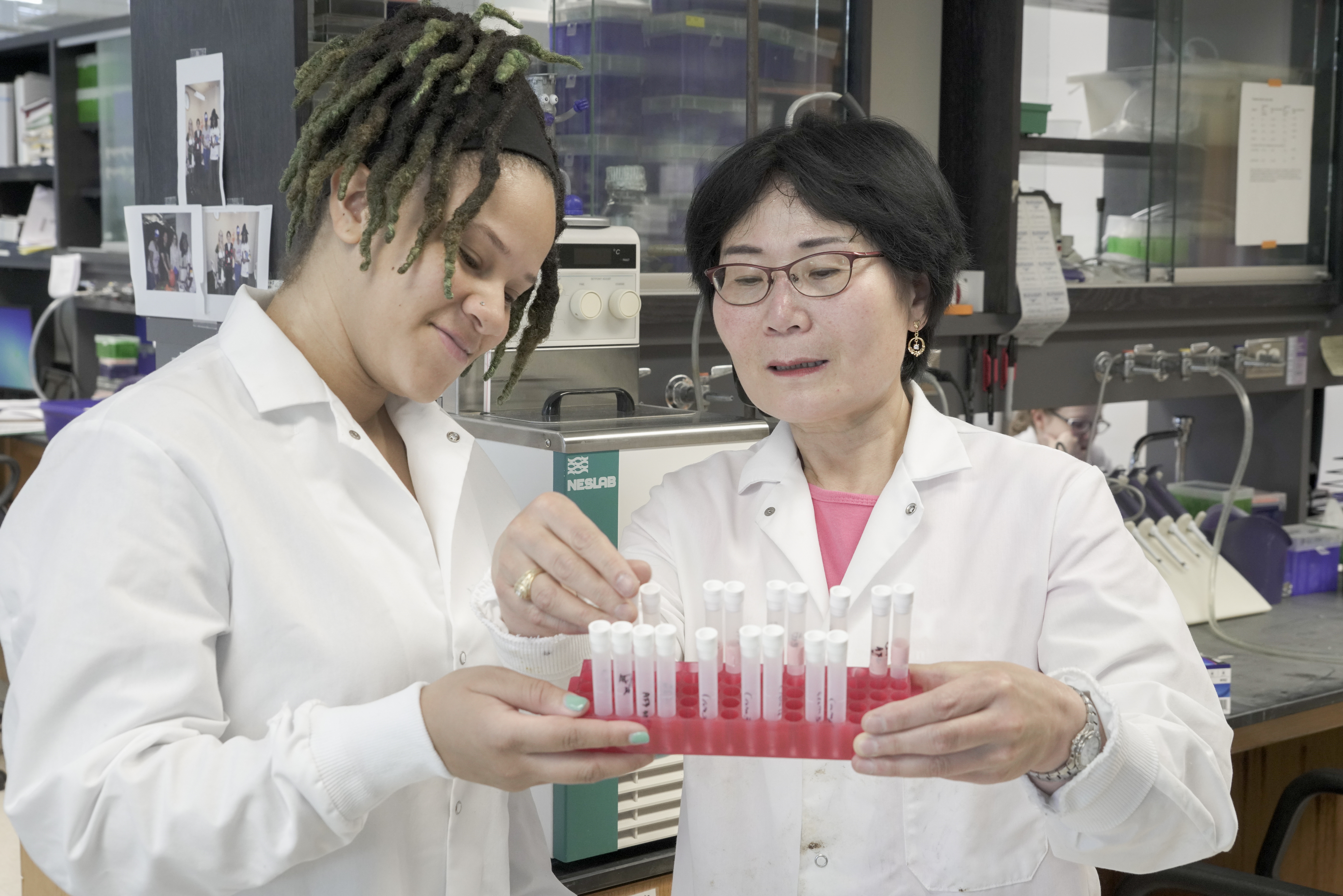Anya Byrd with advisor Dr. Sook Chung