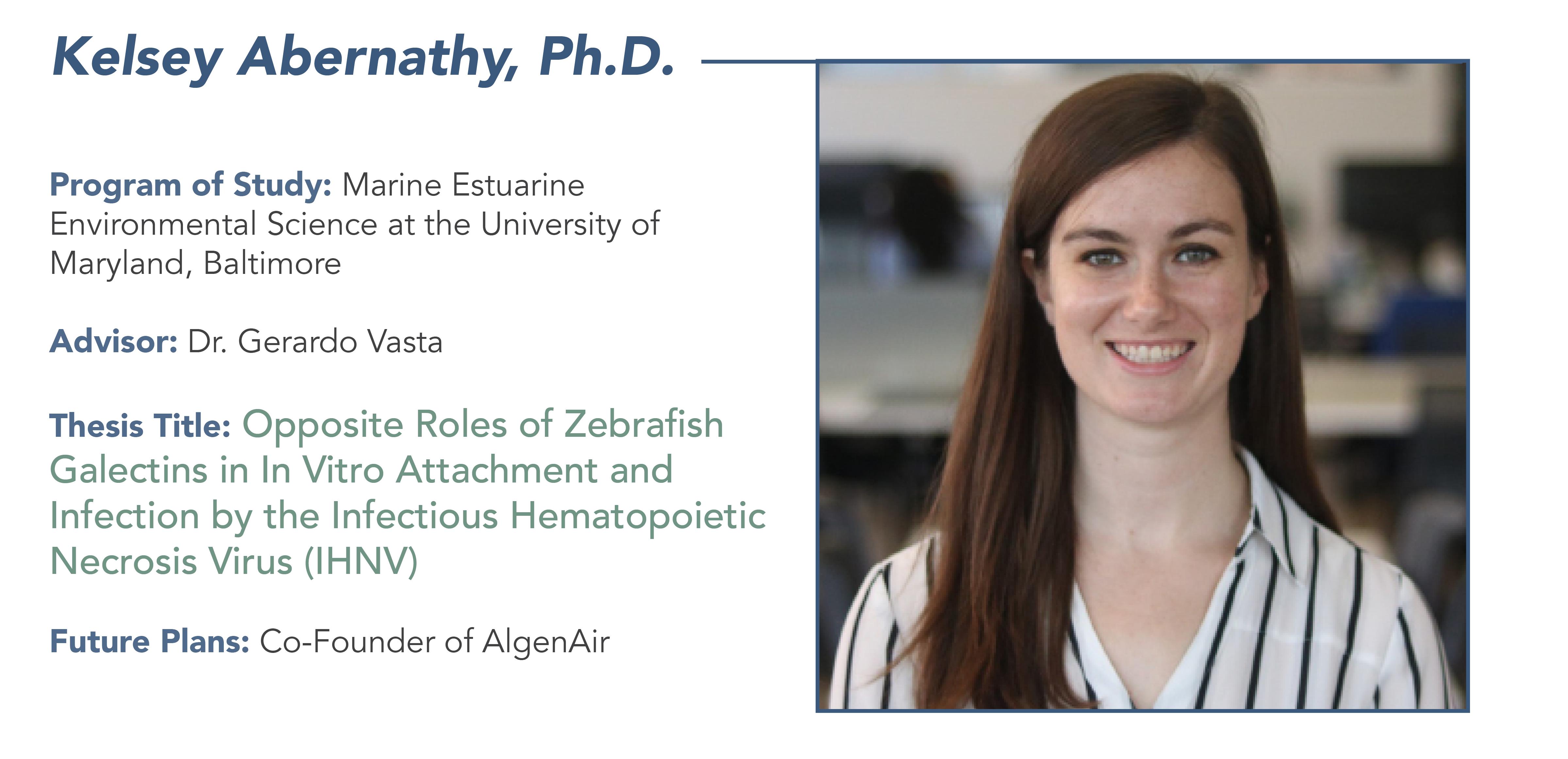 headshot of Kelsey Abernathy, Ph.D.