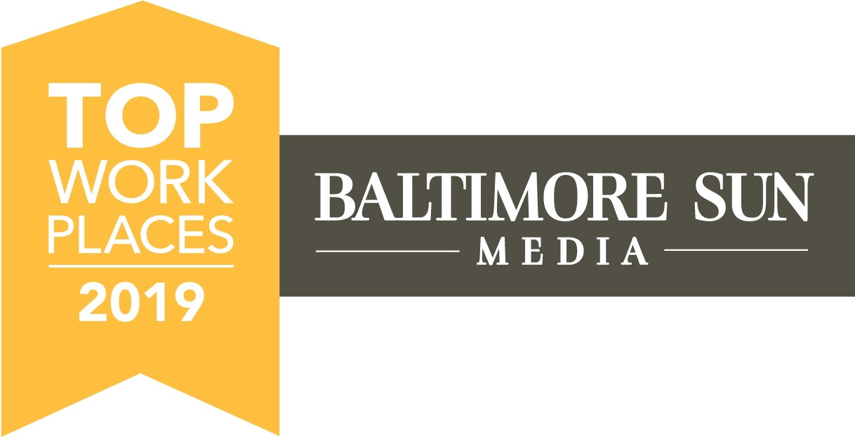 logo for top workplaces 2019 from Baltimore Sun Media