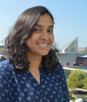 headshot of Nidhi Satishkumar