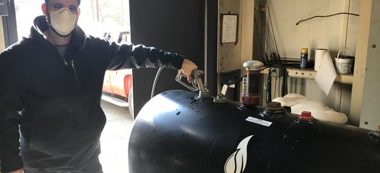 Dr. Ryan Powell adds algal biofuel to HPL's boilers