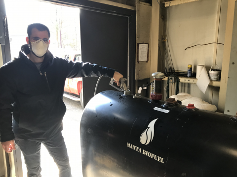 Dr. Ryan Powell adds algal biofuel to HPL's boilers